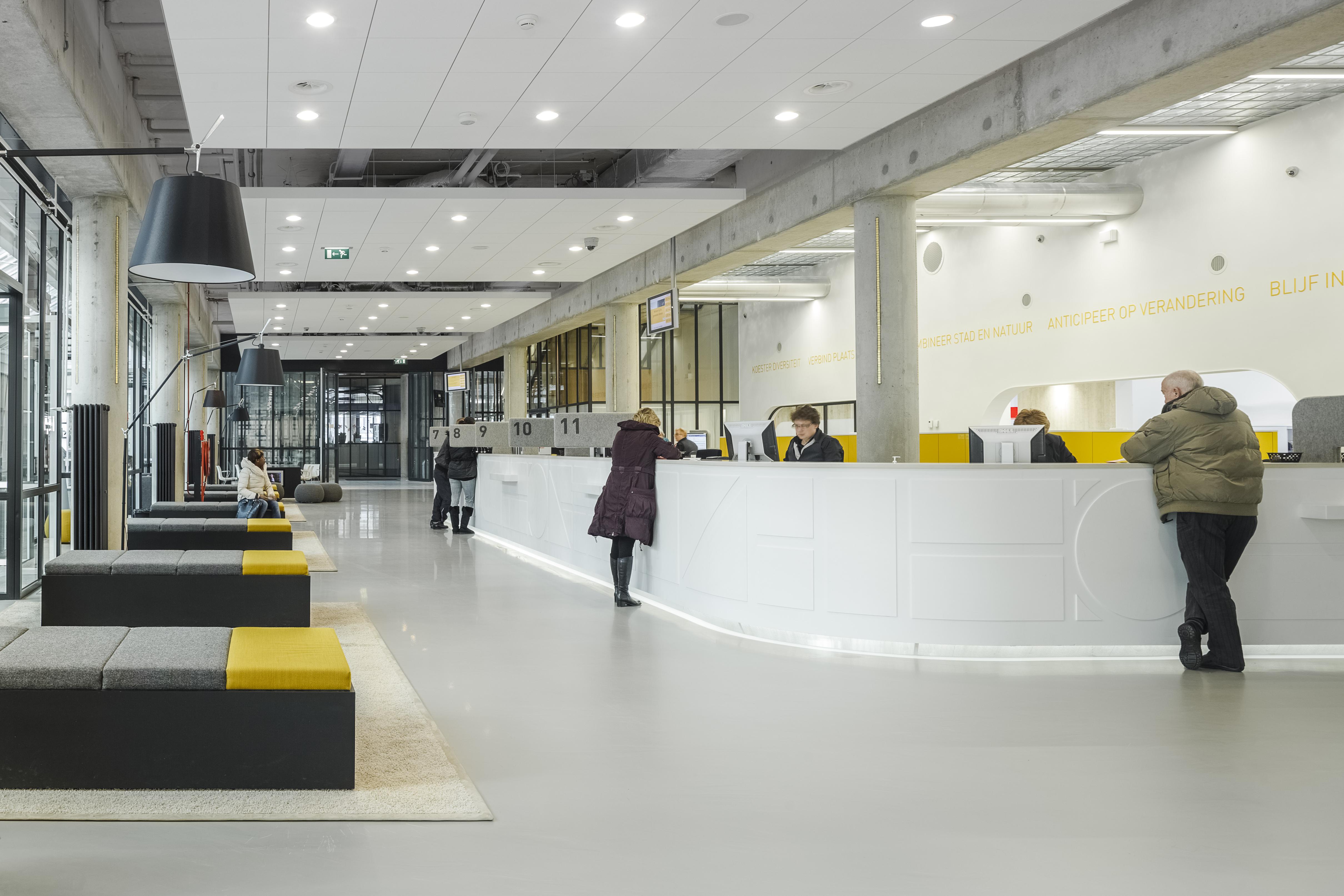 Rathaus Von Almere Von Fokkema Amp Partners Architects Hi