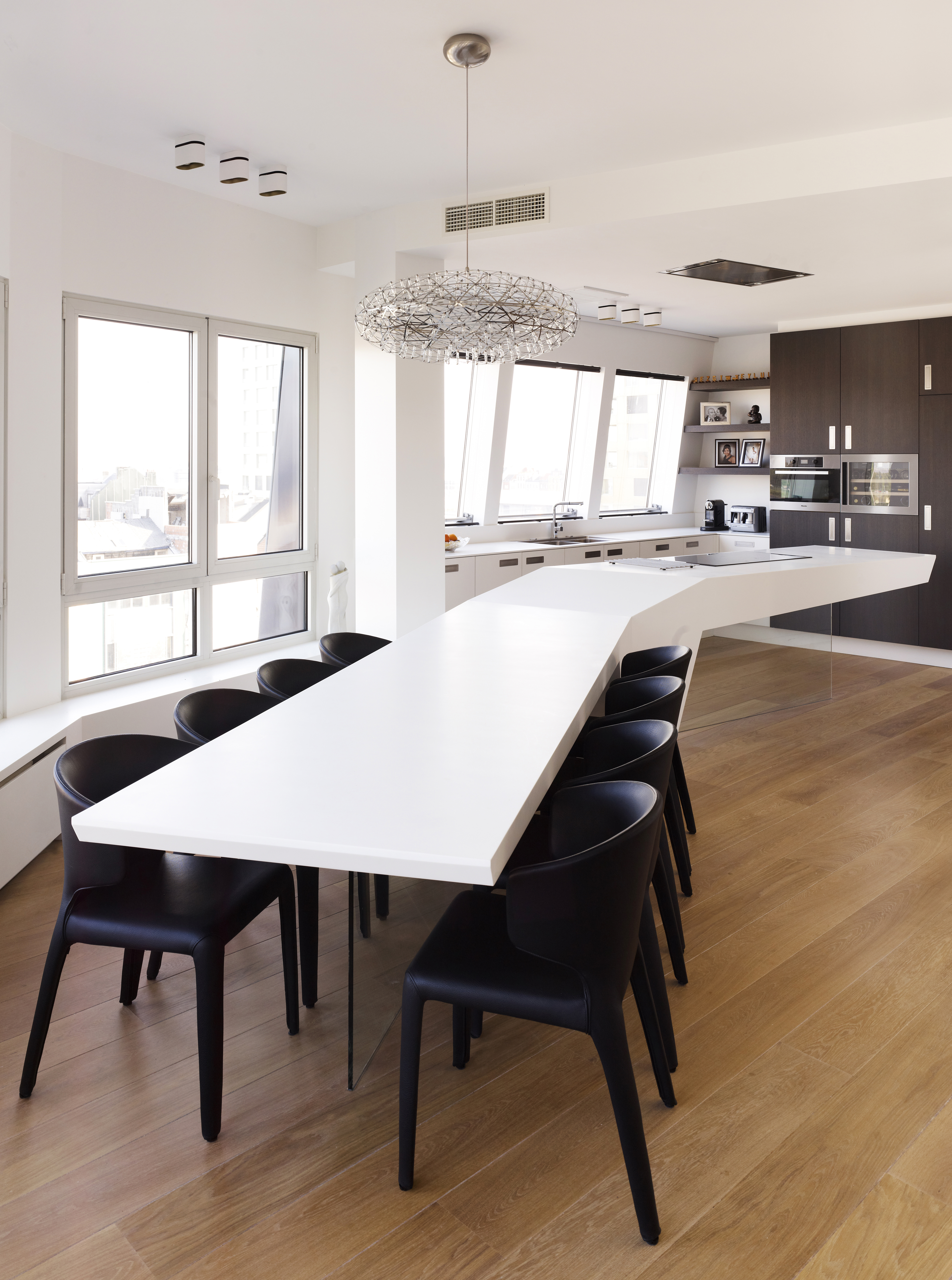 Penthouse in Antwerpen | HI-MACS®