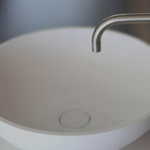 Design Material Für Waschbecken Bad Hi Macs