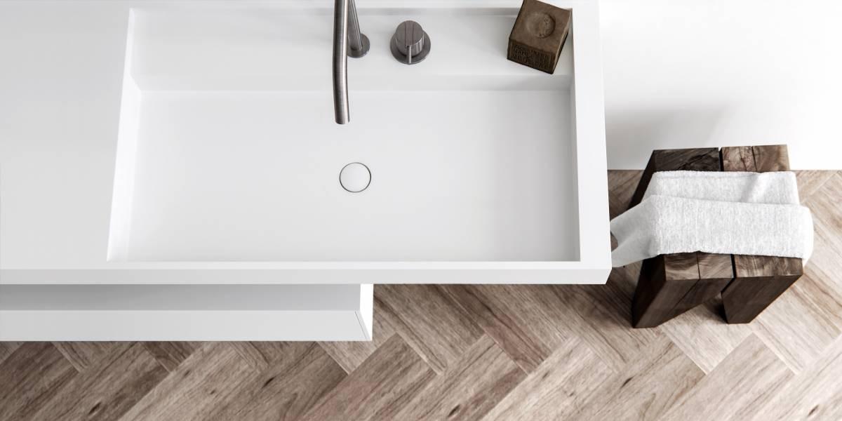 Contemporary Bathroom Styling By Baths By Clay Hi Macs