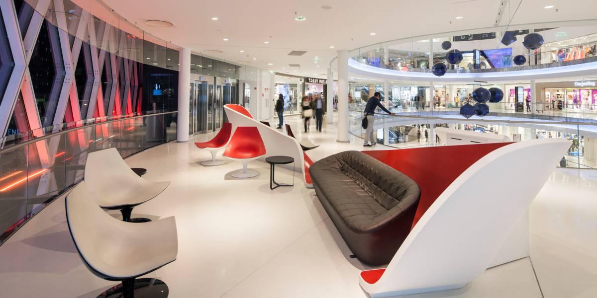 beaugrenelle shopping centre hi macs. Black Bedroom Furniture Sets. Home Design Ideas